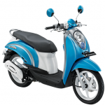Honda Scoopy Sugar Blue