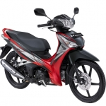 Honda Supra X 125 Helm In PGM-FI Superior Red