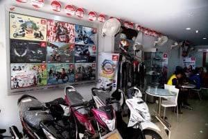 Showroom Honda Cengkareng
