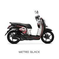 Honda Scoopy eSP Metro Black