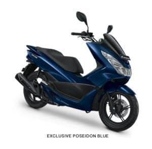 Honda PCX Exclusive Poseidon Blue