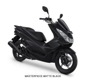 Honda PCX Masterpiece Matte Black