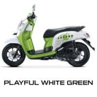 Honda Scoopy Playful Green