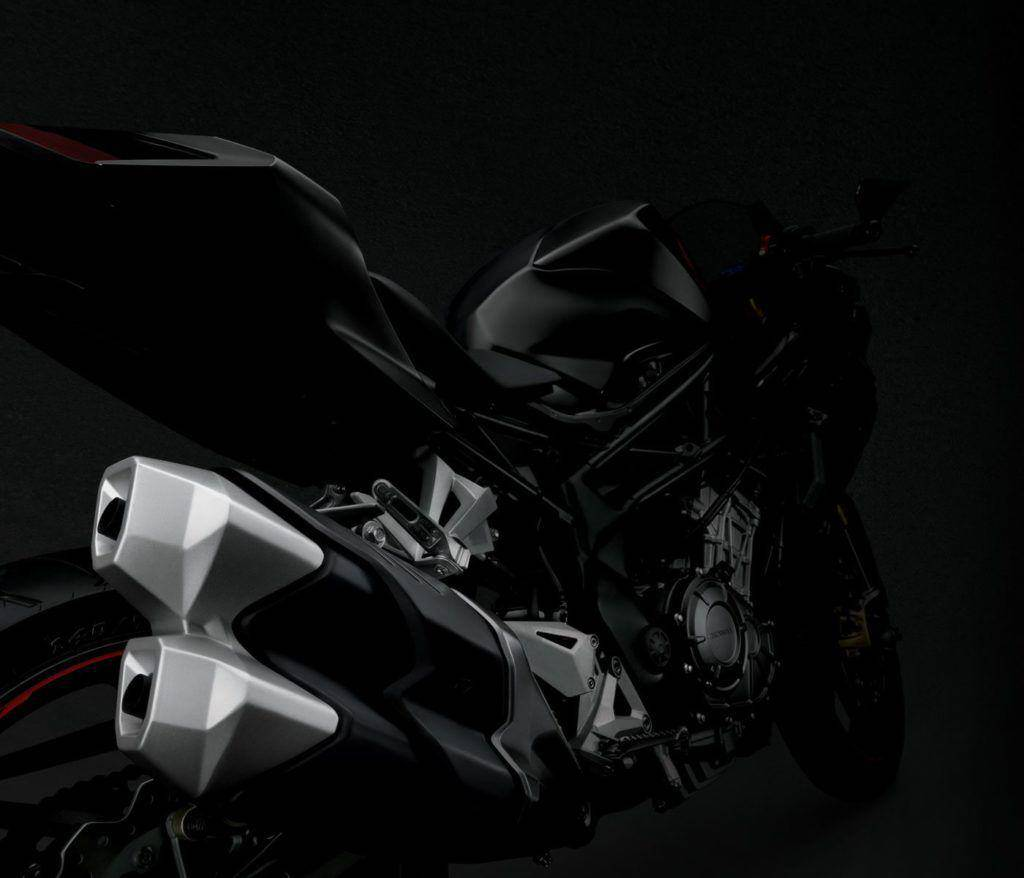 Honda CBR 250RR Closeup Knalpot