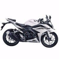 All New CBR 150R Revolution White