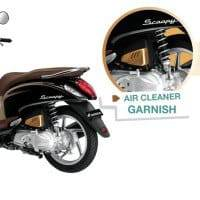 Air Cleaner Garnish Gold Scoopy FI