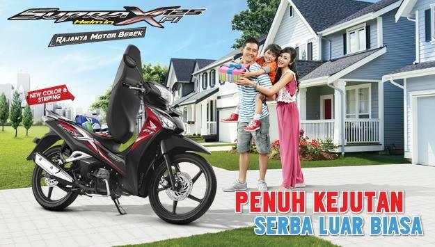 Honda Supra X 125 Helm In PGM FI