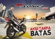 Brosur Motor Honda Sonic 150R