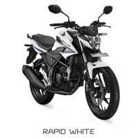 Honda CB150R StreetFire Rapid White