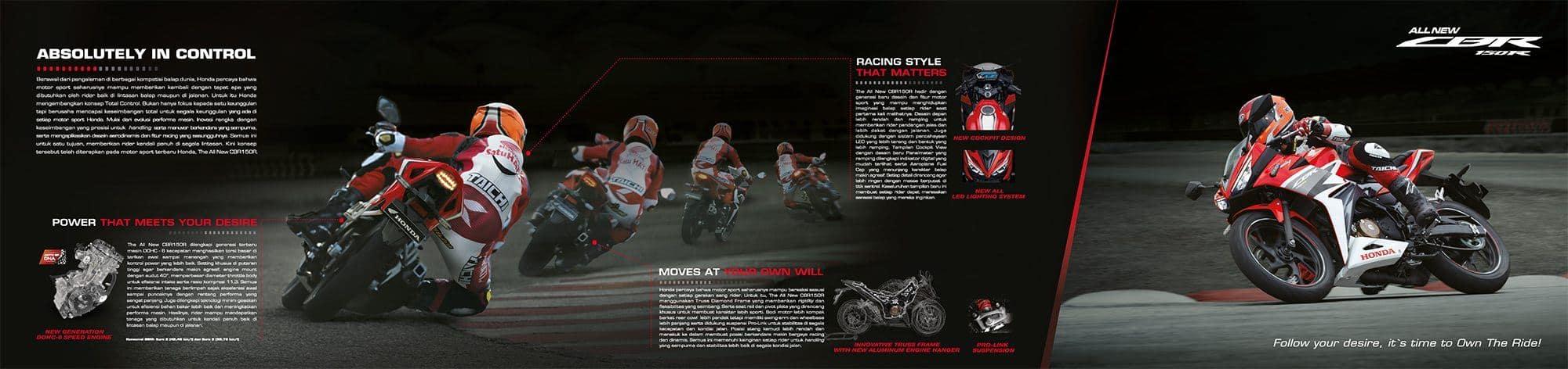 Brosur Motor All New Honda CBR 150R - 2