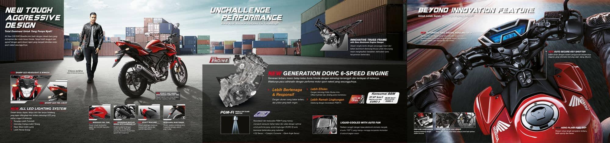 Brosur Motor Honda CB150R StreetFire 2