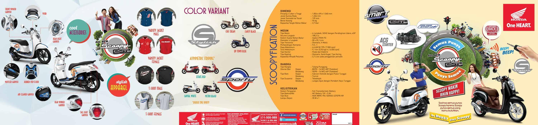 Brosur Motor Honda Scoopy eSP - 1