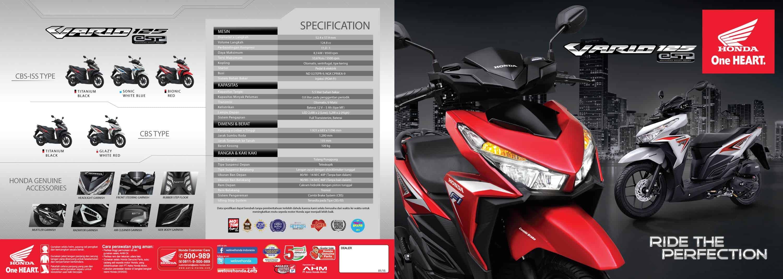 Brosur Motor Honda Vario 125 eSP