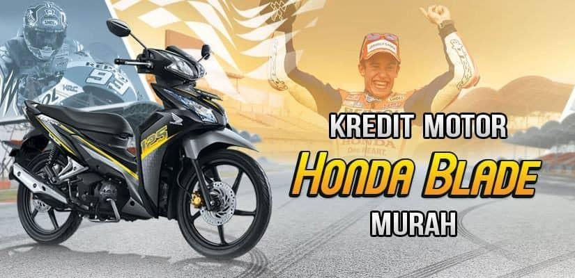 Kredit Motor Honda Blade DP Murah