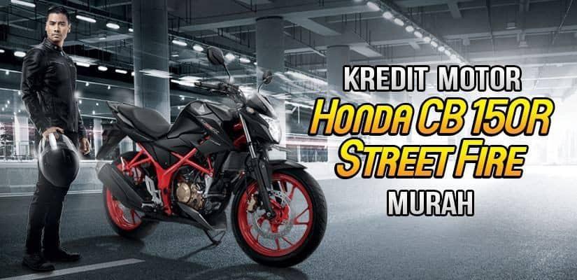 Kredit Motor Honda CB150R StreetFire DP Murah