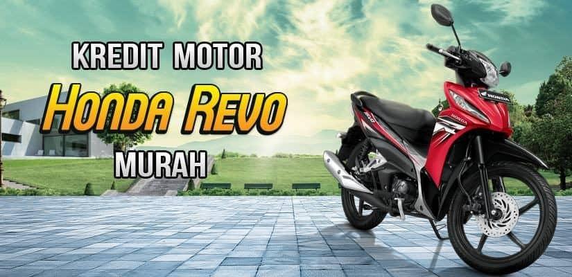 Kredit Motor Honda Revo DP Murah