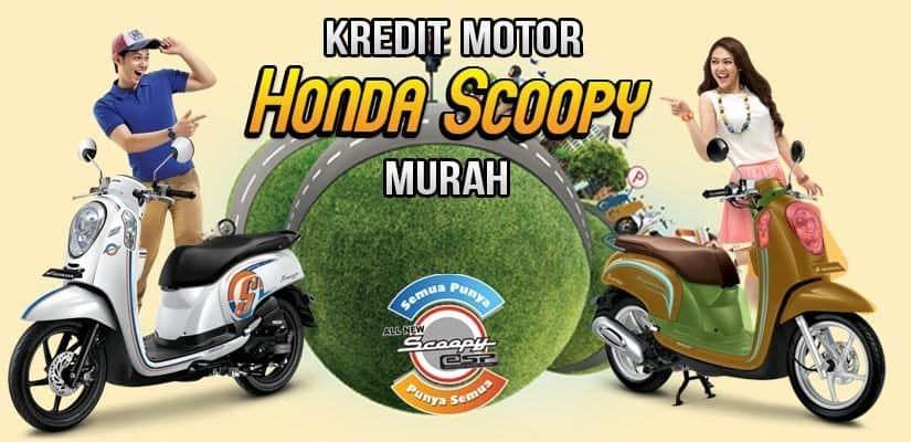 Kredit Motor Honda Scoopy DP Murah