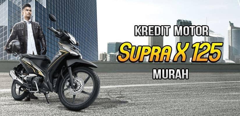 Kredit Motor Honda Supra X DP Murah