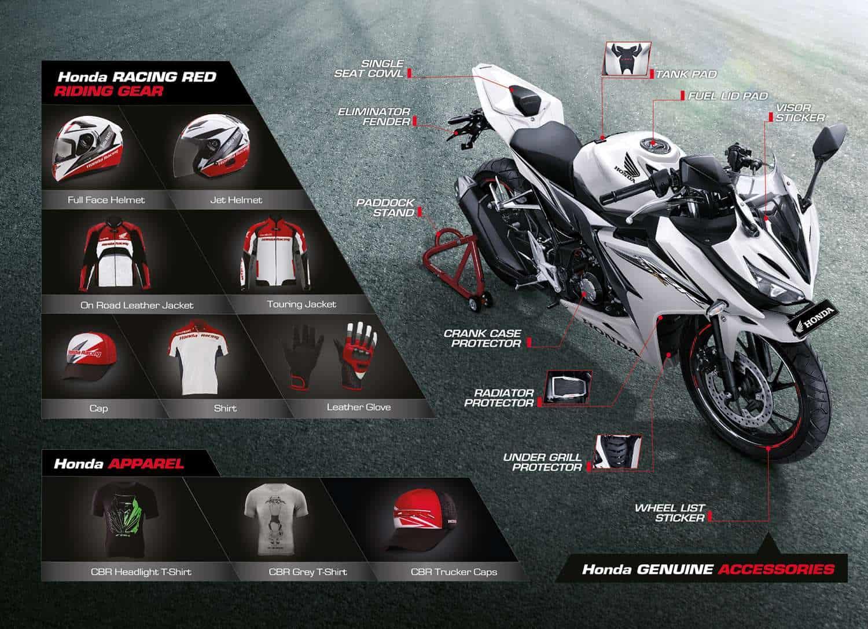Aksesoris Honda CBR 150R
