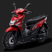 Honda BeAT Pop eSP Groovy Red