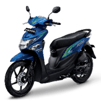 Honda BeAT Pop eSP Melody Blue