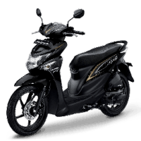 Honda BeAT Pop eSP Tone Black