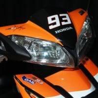 Close Up Honda Blade Repsol Edisi Special MotoGP