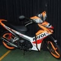 Honda Blade Repsol Edisi Special MotoGP