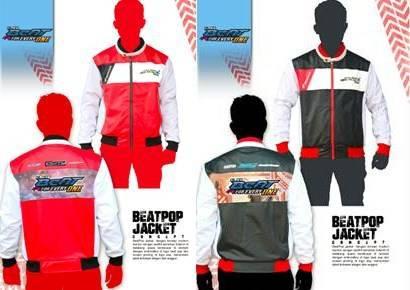 Gambar Desain Jaket Eksklusif Honda BeAT POP eSP