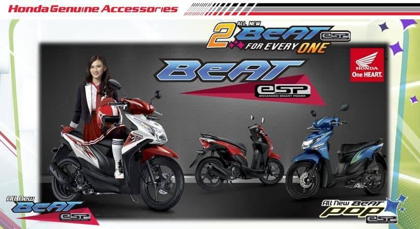 Aksesoris Honda BeAT eSP