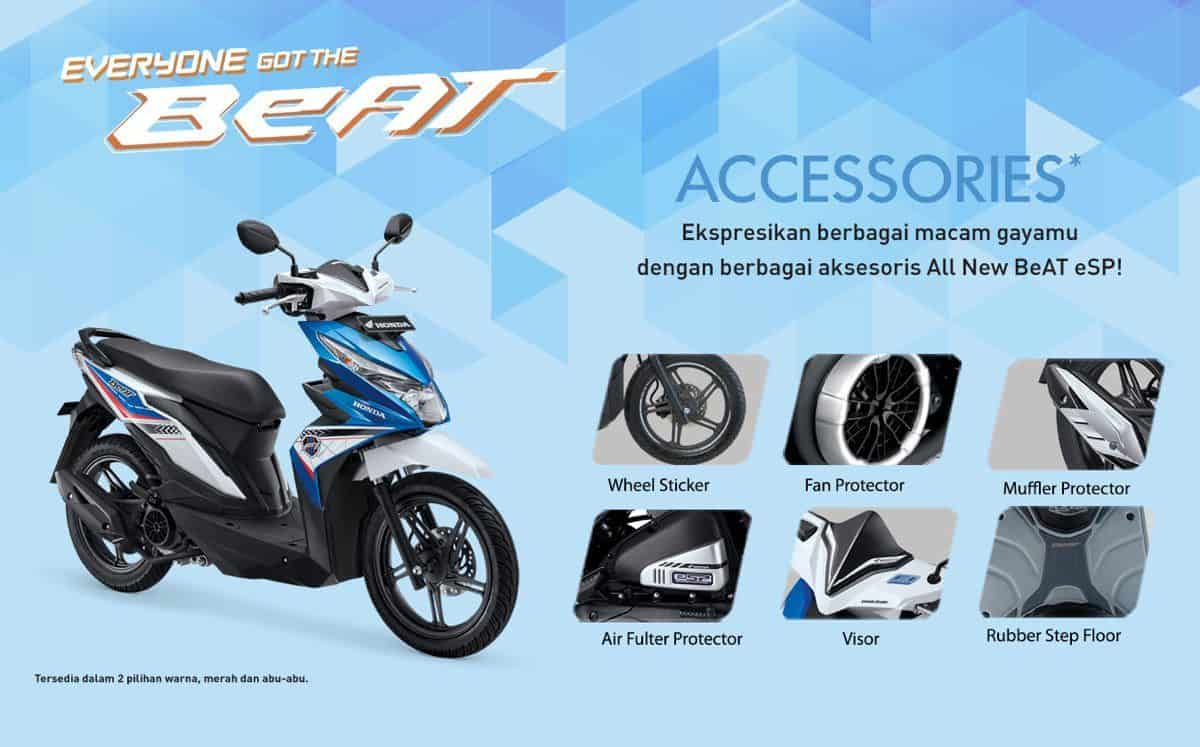 Aksesoris Honda Beat Honda Cengkareng