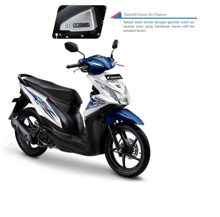 Garnish Cover Air Cleaner Honda BeAT eSP