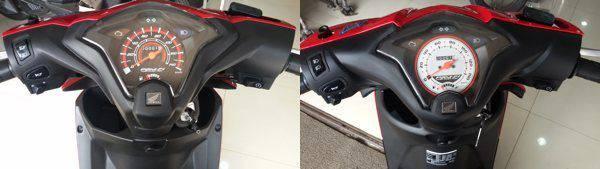 Perbedaan Honda BeAT eSP Panel Indikator
