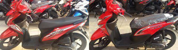 Perbedaan Honda BeAT eSP Striping