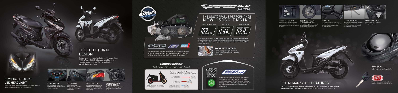 Brosur Motor Honda Vario 150 eSP