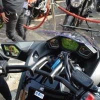 Fitur Dashboard Berwarna Lampu Hijau Honda Vultus NM4