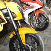 Honda CB650F Honda CBR 650F