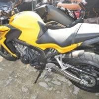 Tampak Samping Honda CB650F