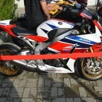 Tampak Samping Honda CBR 1000 RR SP