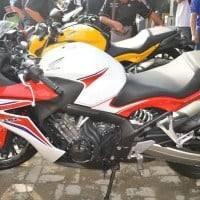 Tampak Samping Honda CBR650F