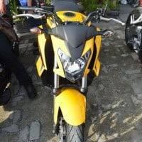 Tampilan Depan Honda CB650F