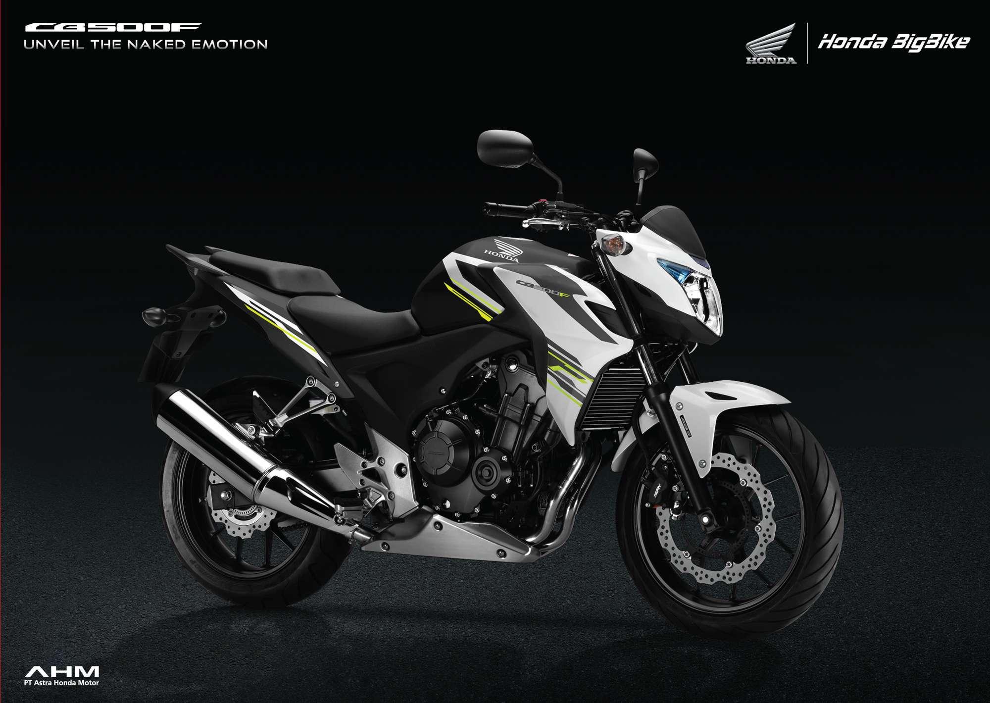 Brosur Motor Honda CB500F