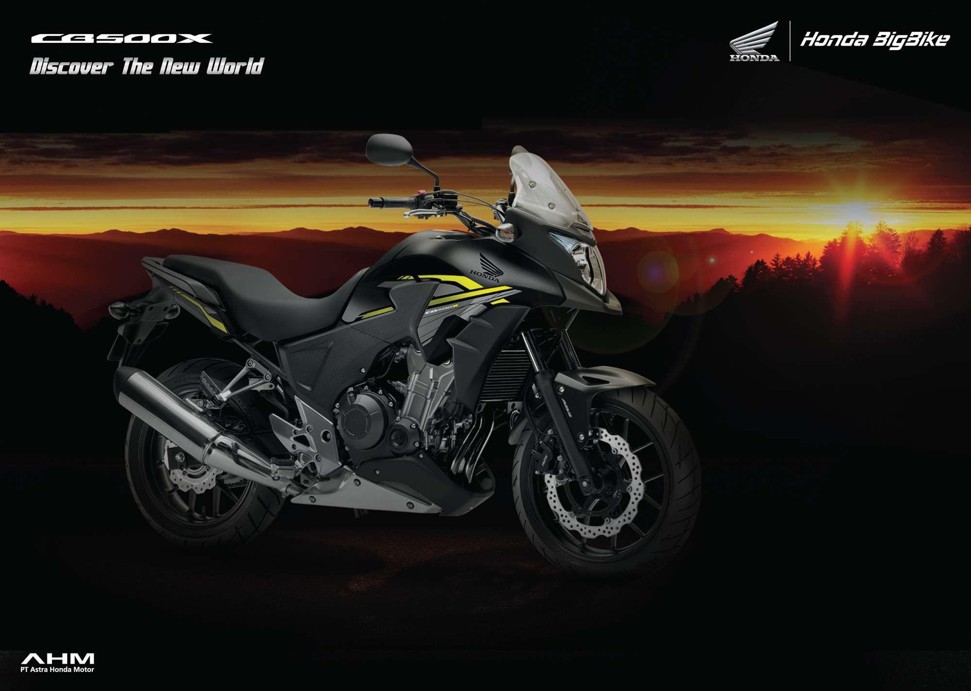 Brosur Motor Honda CB500X - 1