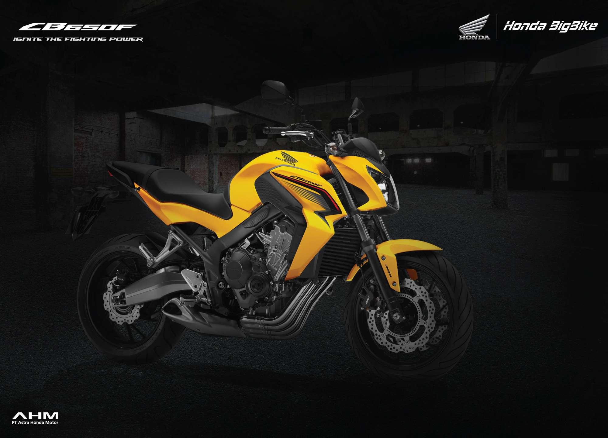 Brosur Motor Honda CB650F - 1
