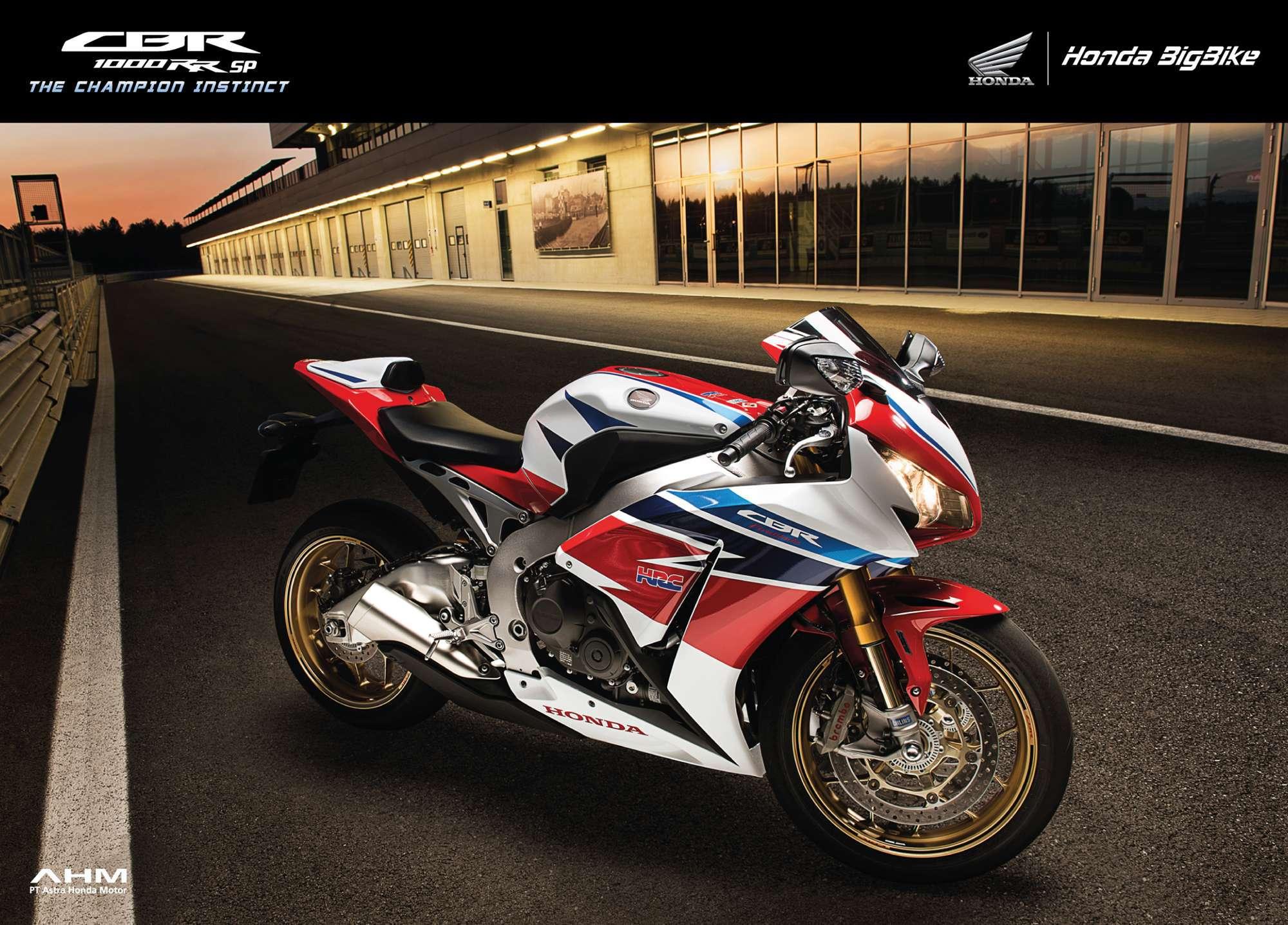Brosur Motor Honda CBR 1000RR SP - 1