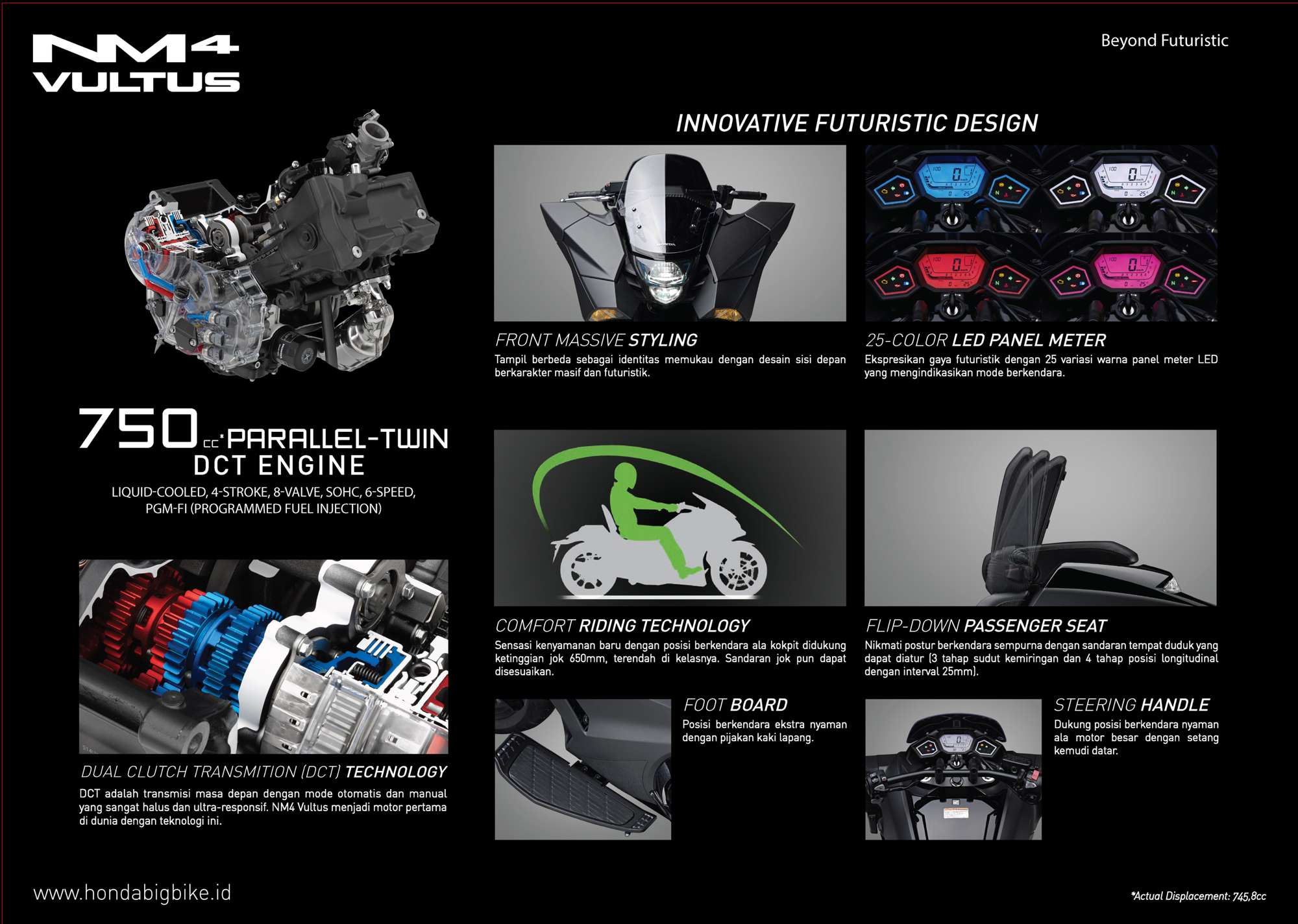 Brosur Motor Honda NM4 Vultus - 2