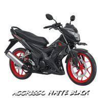 Honda Sonic 150R Aggresso Matte Black