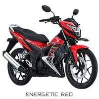 Honda Sonic 150R Energetic Red