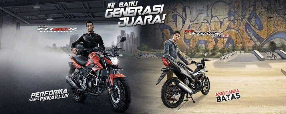 Honda Sonic 150R & New CB150R StreetFire Resmi Dirilis Di Indonesia