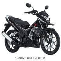 Honda Sonic 150R Spartan Black